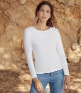 SS708: Fruit of the Loom Lady Fit Value Long Sleeve T-Shirt