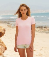 SS71: Fruit of the Loom Lady Fit T-Shirt