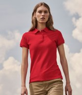 SS86: Fruit of the Loom Lady Fit Pique Polo Shirt