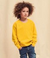 SS8B: Fruit of the Loom Kids Raglan Sweatshirt