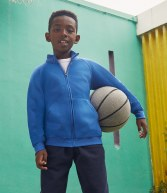 SS92B: Fruit of the Loom Kids Classic Sweat Jacket