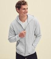 SSE16: Fruit Loom Premium Zip Hooded Sweatshirt