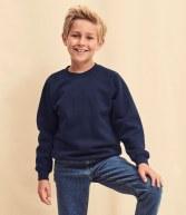 SSE8B: Fruit of the Loom Kids Premium Raglan Sweatshirt