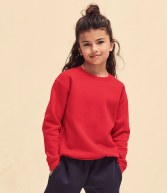 SSE9B: Fruit of the Loom Kids Premium Drop Shoulder Sweatshirt