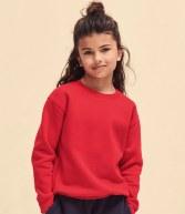 SSE9B: Fruit of the Loom Kids Premium Drop Shoulder Sweatshirt