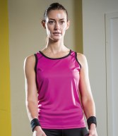 TL502: Tombo Teamsport Ladies Running Vest