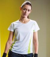 TL542: Tombo Teamsport Ladies Contrast Performance T-Shirt