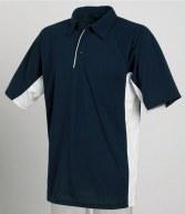 TL65: Tombo Teamsport Contrast Poly/Cotton Pique Polo Shirt