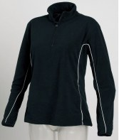 TL94: Tombo Teamsport Ladies Zip Neck Micro Fleece