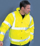 WD040: Dickies High Visibility Bomber Jacket