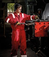 WD410: Dickies Cotton Coverall